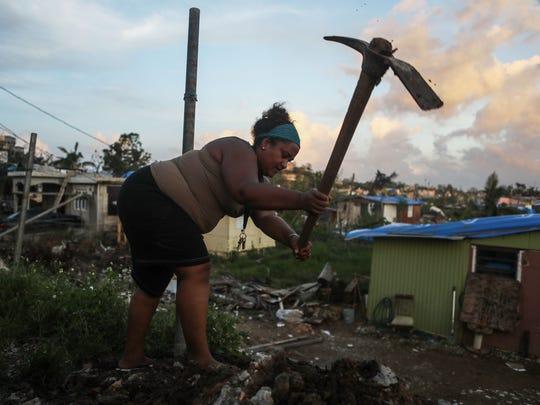 In San Isidro, Puerto Rico, on Oct. 17, 2017.