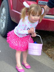 On the hunt for Easter eggs.