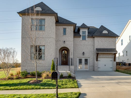 The Willow Branch model home showcases the type of homes available in Riverbluff.