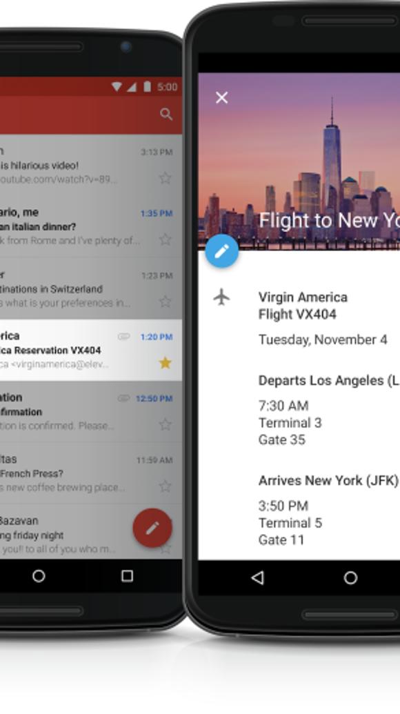 A screenshot of Gmail.