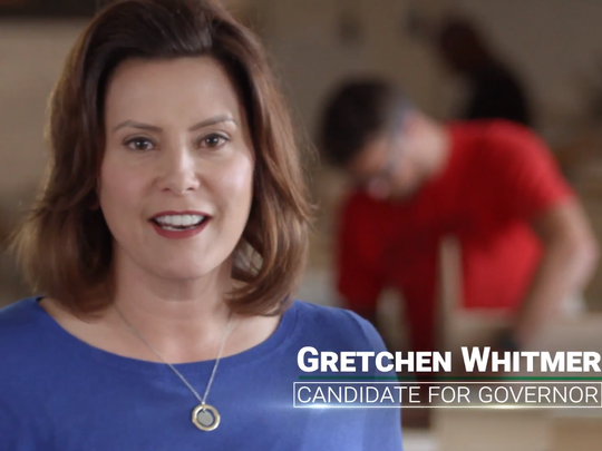 A new ad from Build a Better Michigan featured Gretchen Whitmer and identified her as a candidate for governor. Progressive Advocacy Trust donated $300,000 to the group.