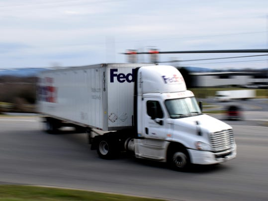 Staunton FedEx Package hub