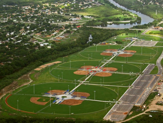 Texas Bank Sports complex is used year-round for sports