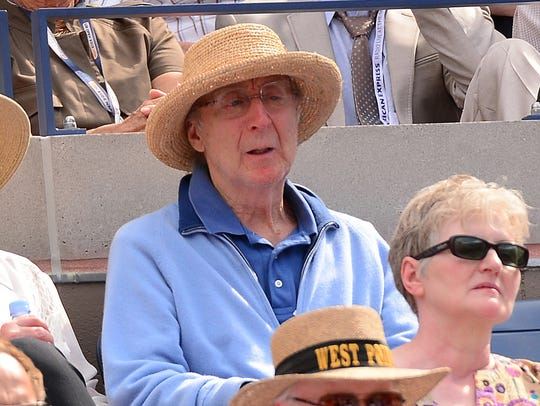 Gene Wilder in September 2013 at a tennis match at
