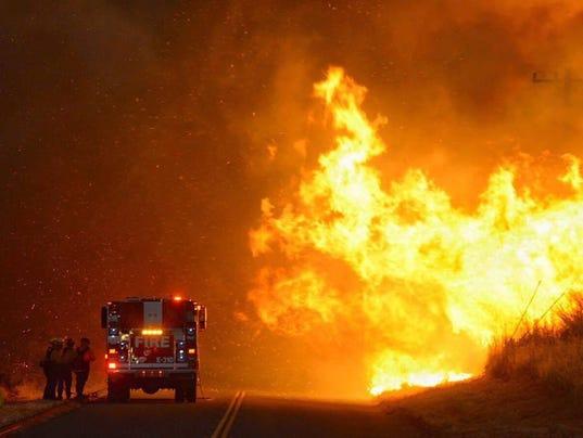 EPA USA CALIFORNIA SHERPA WILDFIRE DIS FIRE USA CA