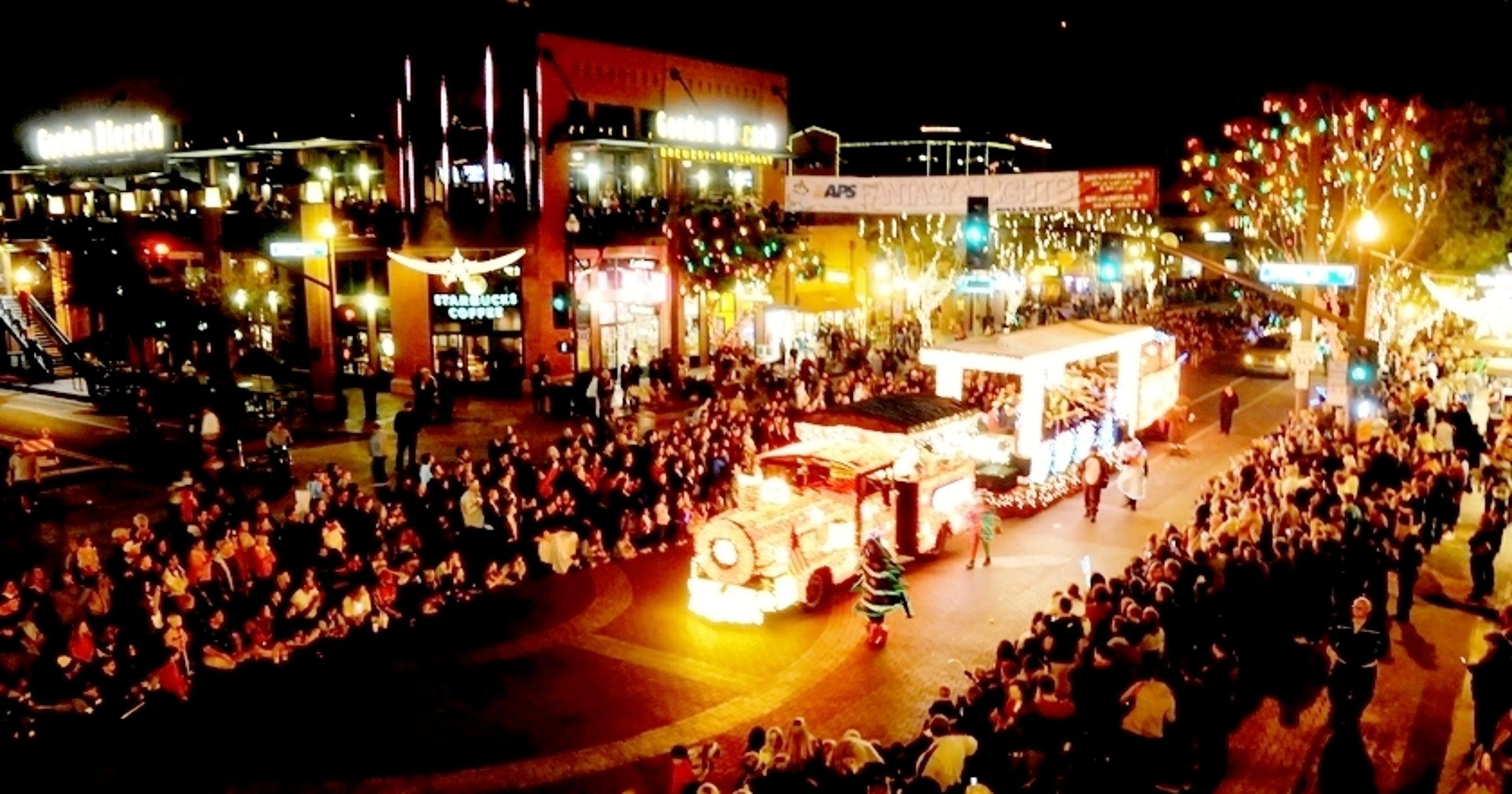 Fantasy Of Lights Parade Kicks Off Holiday Season Friday