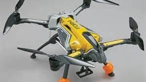 Police are searching for the owner of a runaway drone that struck a building in Linden.