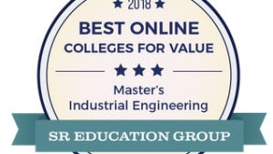 The Master of Science in Industrial Engineering program at Louisiana Tech University has been ranked among the best online industrial engineering degrees in the nation for 2018.