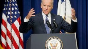 Vice President Joe Biden speaks about the release of the First Report of the White House Task Force to Protect Students from Sexual Assault, April 29. The White House is urging schools to provide victims of sexual assault with a confidential, respectful way to report the crimes and seek treatment.