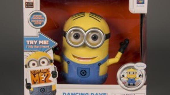 Despicable Me 2 Dancing Dave figure, 2013, courtesy of The Strong, Rochester, New York.