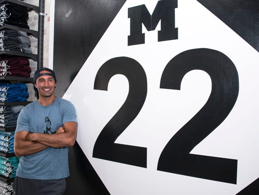 Matt Myers, co-founder of the M-22 stores in Traverse
