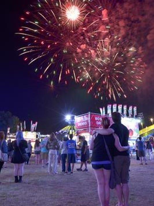 Fireworks spree 2015