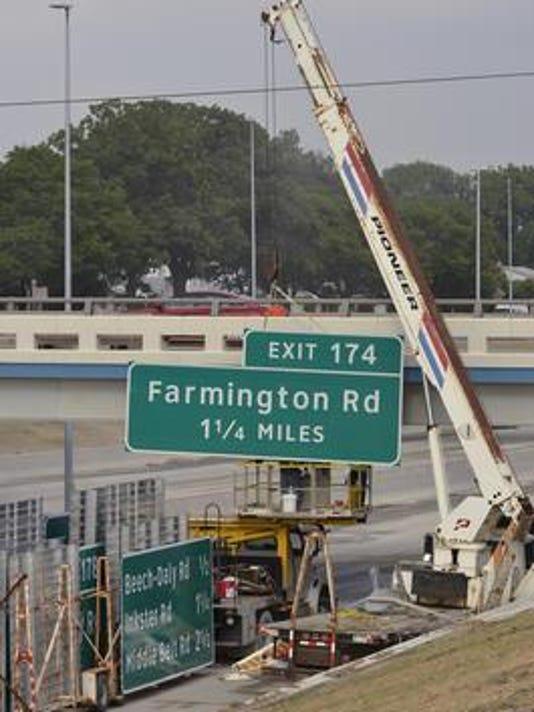 I-96 construction