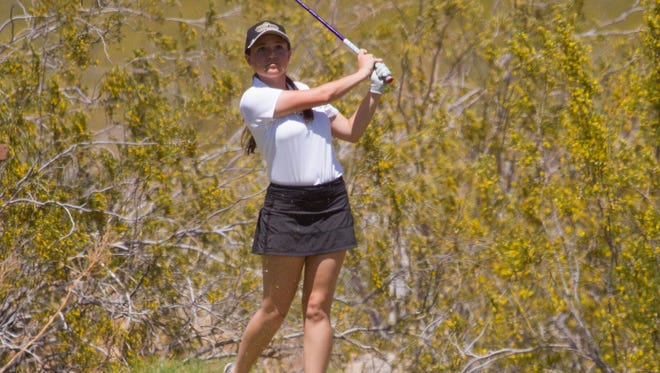 Dixie's Gracie Richens won her sixth consecutive tournament after firing a 5-under 67 at Green Spring Golf Course on Wednesday.
