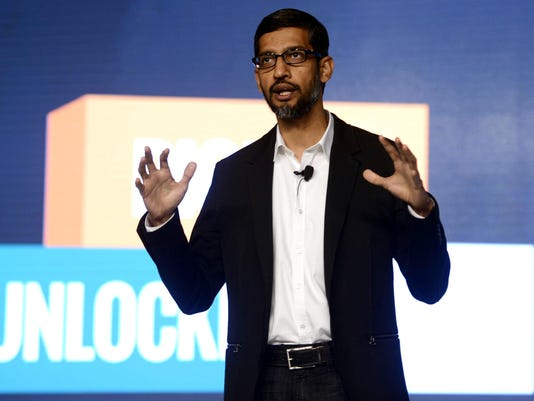 Google CEO unveils new era of robots that sound like humans