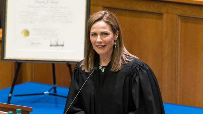 US: Judge Amy Coney Barrett has come out as Trump's favorite