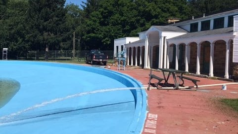 Liberty Pool is set to open at noon Saturday after numerous repairs were made to the 80-year-old pool.