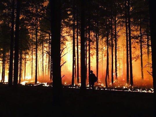Boundary Fire