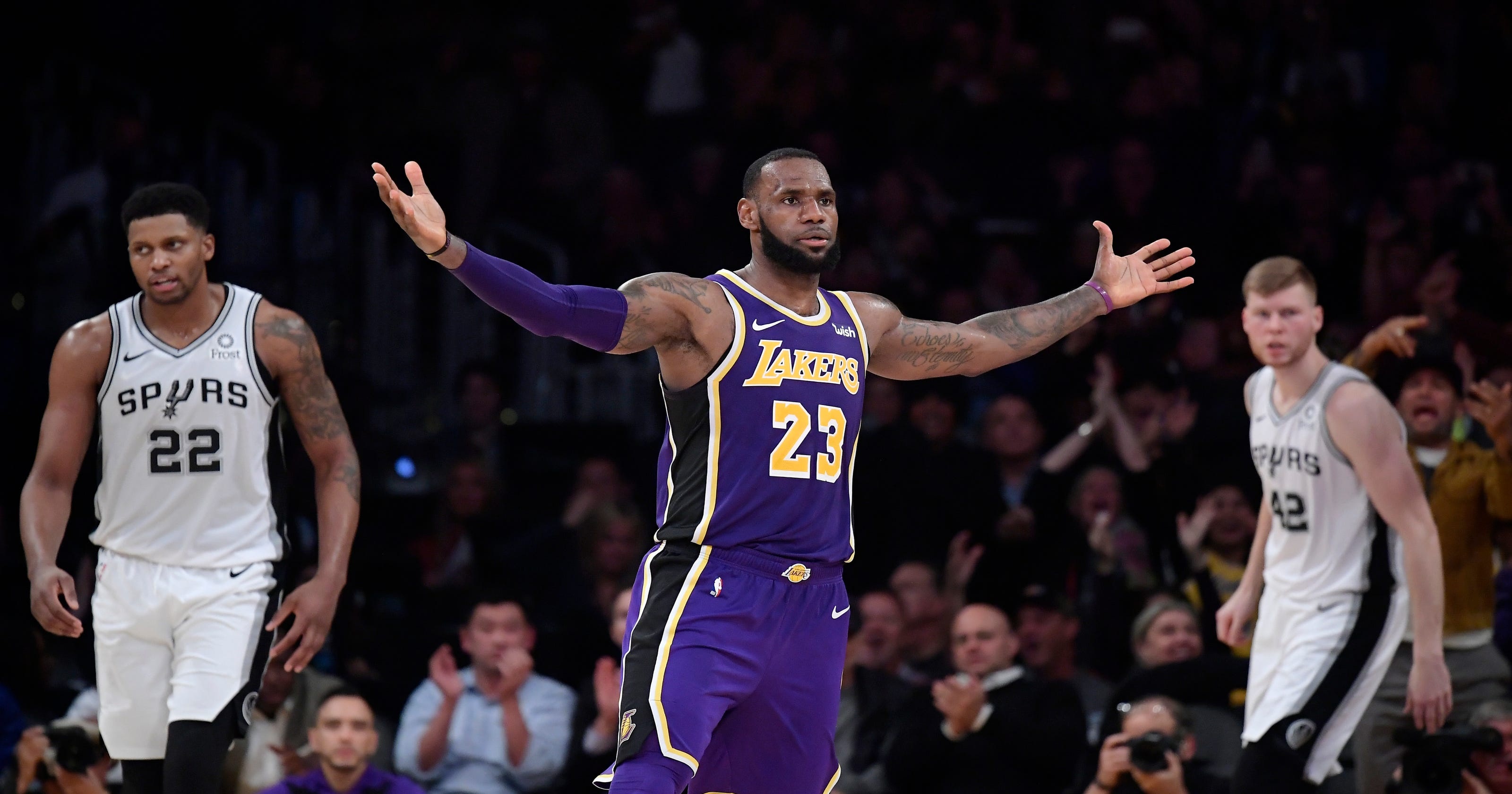 c361c7c52cb7 LeBron James has a few more rungs to climb before he is  The Greatest