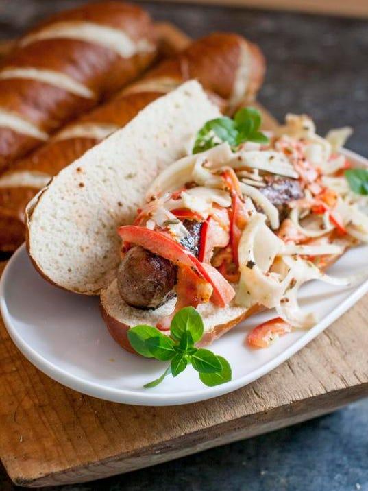 0709 Sausage Sandwiches