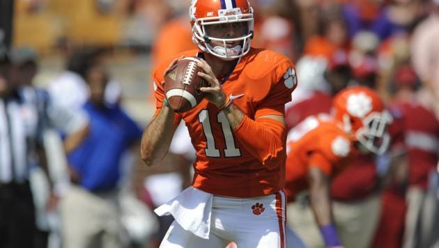Ole Miss quarterback signee Chad Kelly started his college career at Clemson.