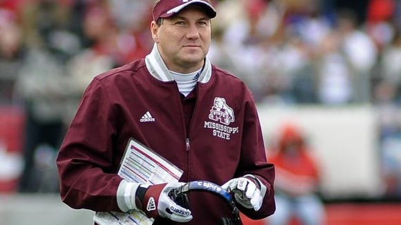 Mississippi State coach Dan Mullen was named one of