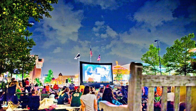 Movies by Moonlight at Easton Town Center