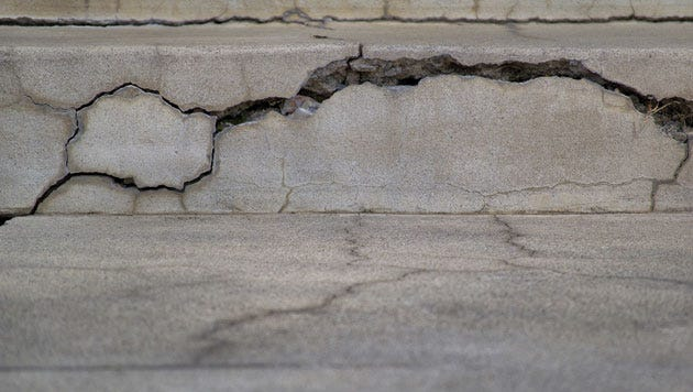 Cracks in your wall can be a sign of larger issues.