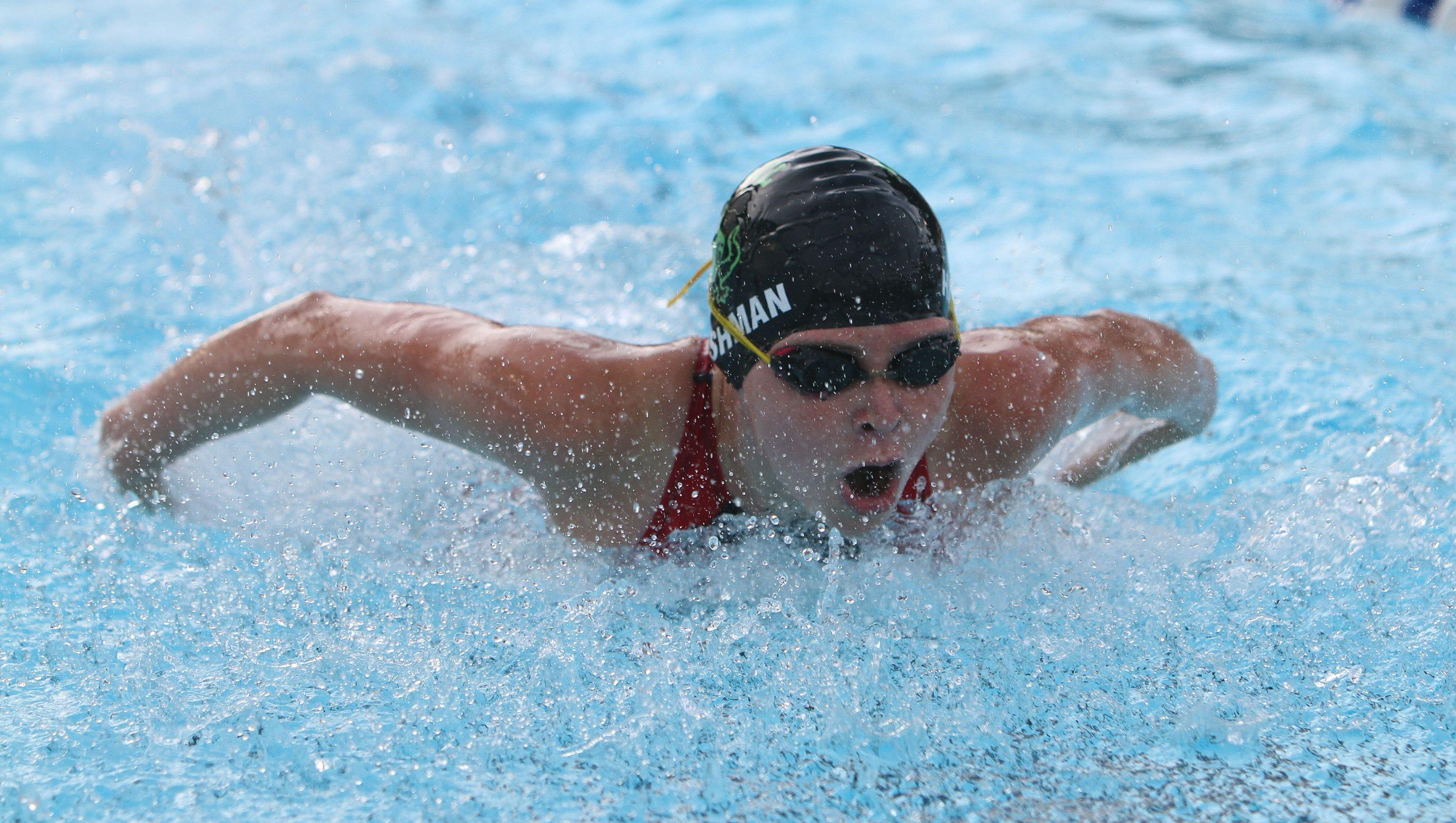 Westchester County Swim Championships At Rye Playland