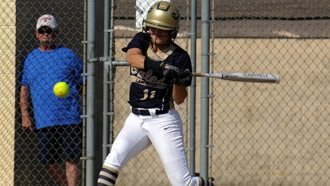 Lancaster senior Alexis Matheney is the 2018 Eagle-Gazette Softball Player of the Year, marking the second year in a row she has won the award.