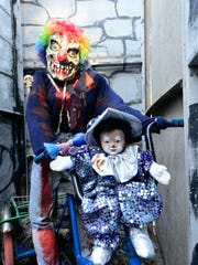 Scary clowns and other frights await visitors to the