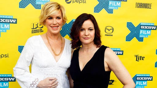 """FILE - In this March 16, 2015 file photo, Molly Ringwald, left, and Ally Sheedy walk the red carpet for """"The Breakfast Club"""" 30th Anniversary Restoration World Premiere during the South by Southwest Film Festival in Austin, Texas. While not usually regarded as a golden age of American cinema, the 1980s produced its share of popular classics - and a few more of them have now been added to the prestigious National Film Registry. The Library of Congress announced Wednesday, Dec. 14, 2016, that """"The Breakfast Club,"""" """"The Princess Bride"""" and """"Who Framed Roger Rabbit"""" are among the 25 movies tapped for preservation this year."""
