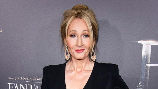 """FILE - In this Nov. 10, 2016 file photo, J. K. Rowling attends the world premiere of """"Fantastic Beasts and Where To Find Them"""" in New York. Rowling's Pottermore web site announced Thursday, Jan. 5, 2017, that a new edition of the Harry Potter spinoff """"Fantastic Beasts and Where to Find Them"""" will come out in March."""