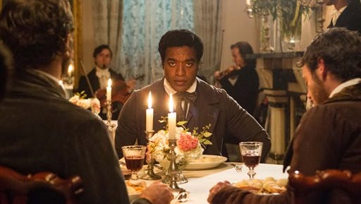 """This undated file image released by Fox Searchlight, Chiwetel Ejiofor portrays Solomon Northup in a scene from """"12 Years A Slave."""" From """"12 Years a Slave"""" to """"The Butler"""" to """"Fruitvale Station,"""" 2013 has been a banner year for movies directed by black filmmakers."""