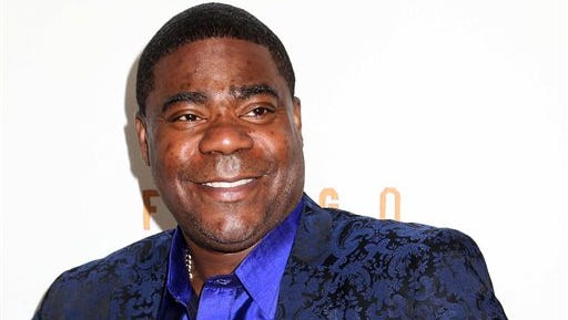 """Actor Tracy Morgan attends the FX Networks Upfront premiere screening of """"Fargo"""" at the SVA Theater in New York. Morgan is struggling more than two months after he was injured in a motor vehicle crash that left a fellow comedian dead, his lawyer said Monday."""