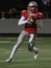 Shelby quarterback Brennan Armstrong will be an early