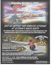 Flyer for the annual charity run.