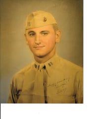 Captain Snowdon, 1944, Honolulu, just before embarking