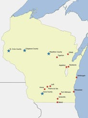 Wisconsin municipalities and counties that have adopted