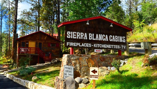 The Sierra Blanca cabins are once again ready for their close-up.