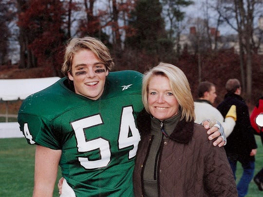Gordie Bailey and his mother Leslie Lanahan. Bailey