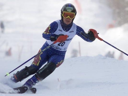 sports uvm winter carnival women's slalom