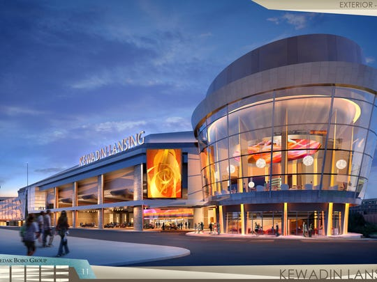 After over two years of delays, plans for the Kewadin Lansing Casino aren't dead. The proposed $245 million project downtown would create an estimated 1,500 permanent jobs and include up to 3,000 slot machines and 48 table games.