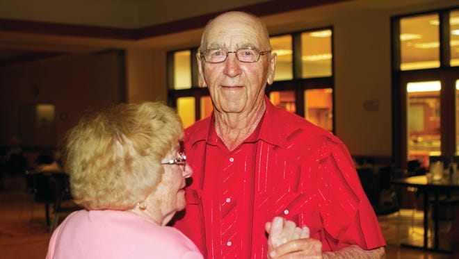Rose's TAVR went smoothly, and he was back home three nights later. A month later, Rose went to his first post-op dance, where he was able to polka a little. Over the next six months, he slowly regained his stamina with daily walking. Today, you're likely to find him carrying his clubs on the Mountain Vista golf course (he's back to going cartless), fishing at Boyd Lake, enjoying his 14 grandchildren and 33 great-grandchildren or polkaing the perimeter of the senior center dance floor.