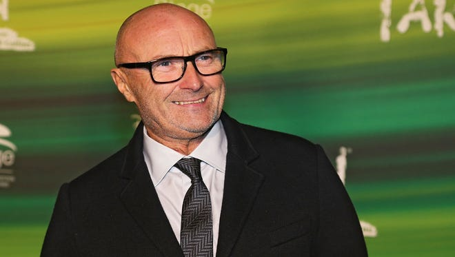 Phil Collins attends the green carpet arrivals for the Stuttgart Premiere of the musical 'Tarzan' at Stage Apollo Theater on November 21, 2013, in Stuttgart, Germany.