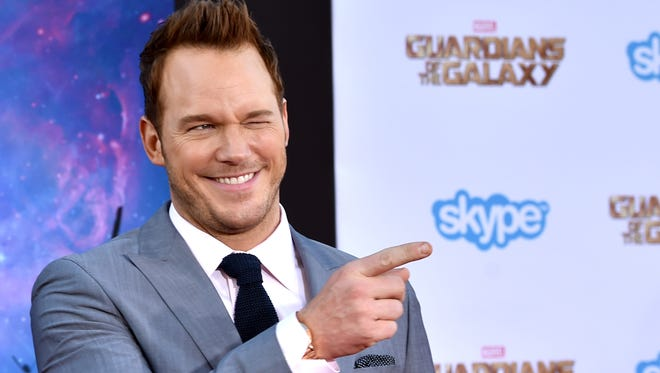 "Actor Chris Pratt attends the premiere of Marvel's ""Guardians Of The Galaxy"" at the Dolby Theatre on July 21, 2014 in Hollywood, California."