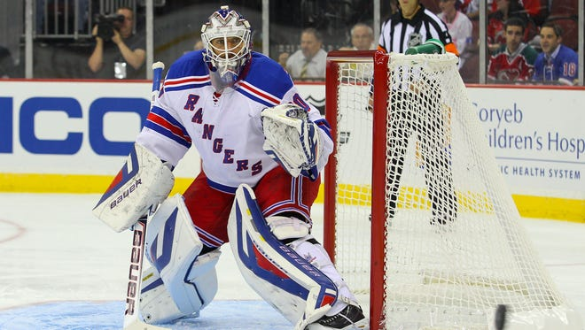 New York Rangers goalie Henrik Lundqvist says he feels quicker but is covering less area.