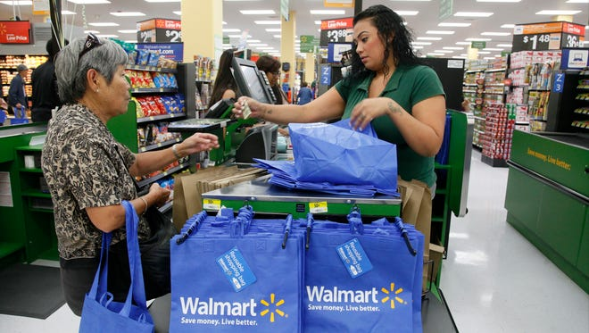 Wal-Mart faces criticism over an employee-led food drive in Canton, Ohio.