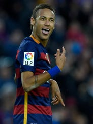 Neymar, futbolista.