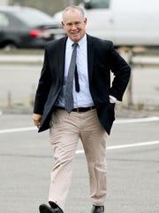 Republican Pennsylvania State Rep. Mike Turzai walks